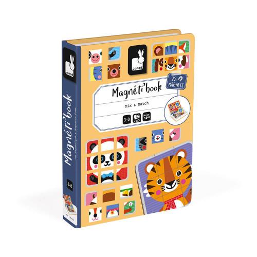 Janod Mix & Match Magneti' Book