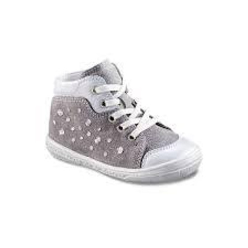 Richter Pewter Lace Stud Small Baseball