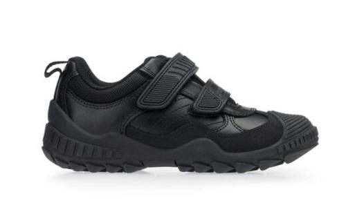 Start-rite Extreme Pri (G) Black Leather Shoe