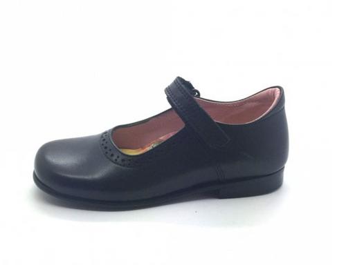 Petasil Tanya (E) NAVY Blue Leather Shoe