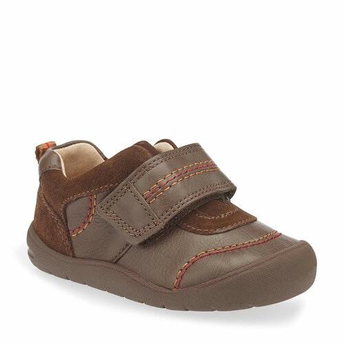 Startrite First Zac (F) Brown Shoe