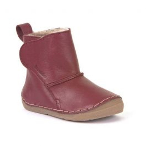 Froddo Bordeaux Wool Lined Textured Boot