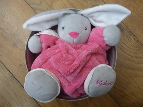 Kaloo Raspberry Medium Chubby Rabbit