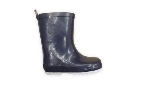 Shoesme Navy Blue Rubber Wellies & Sock