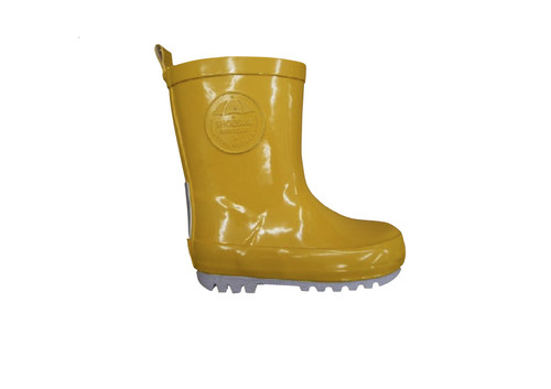 Shoesme Yellow Rubber Wellies & Sock