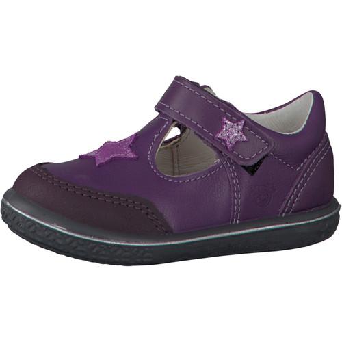 Ricosta Pepino Mandy Lavendel Purple Star T-Bar Scuff Toe Shoe