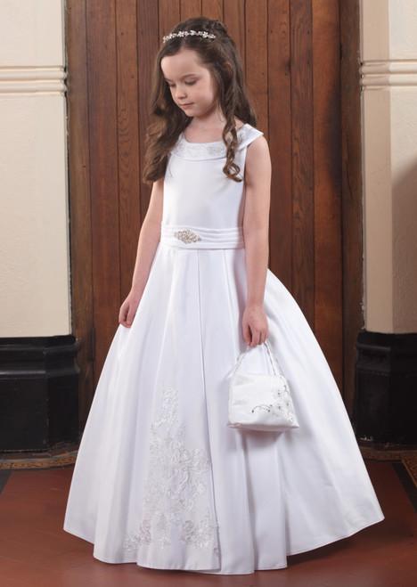 Linzi Jay Niamh White Communion Dress 1X