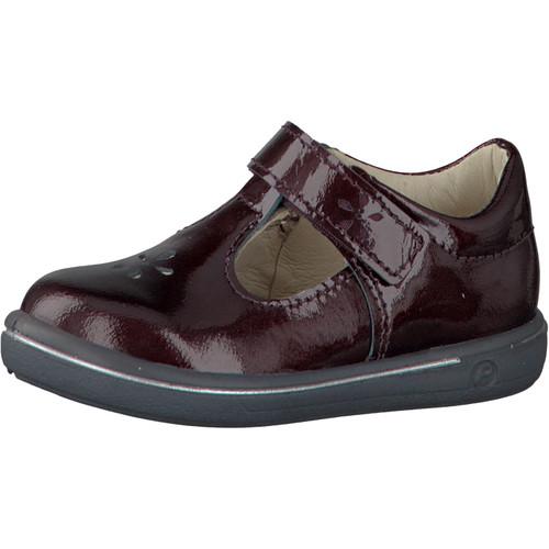 Ricosta Pepino Ricosta Winona Rinde Dark Burgundy Patent T-Bar Shoe