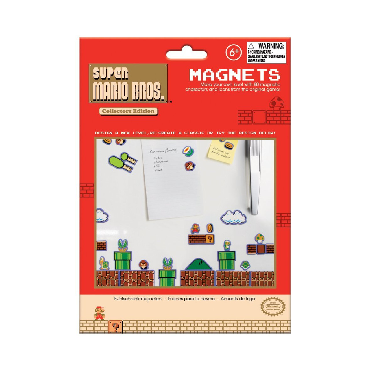 Super Mario Bros Collectors Edition Magnets