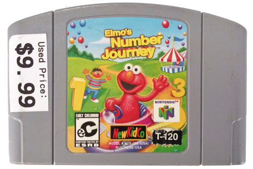 Elmo's Number Journey