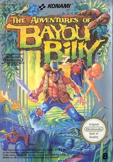 Adventures of Bayou Billy - USED (INCOMPLETE)