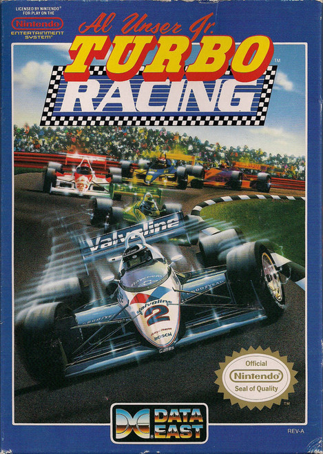 Al Unser Turbo Racing - USED (INCOMPLETE)