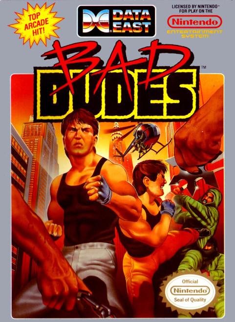 Bad Dudes - USED (INCOMPLETE)