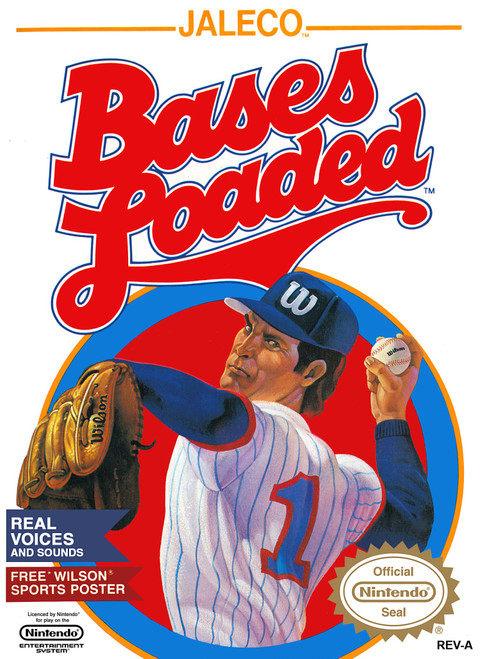 Bases Loaded - NES - USED (INCOMPLETE)