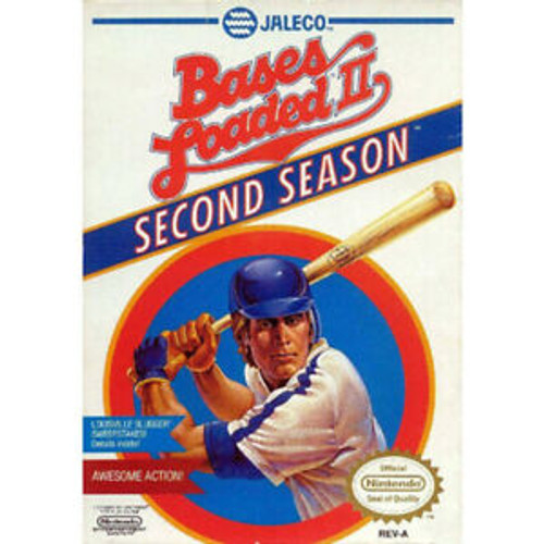 Bases Loaded 2: Second Season - NES - USED (INCOMPLETE)