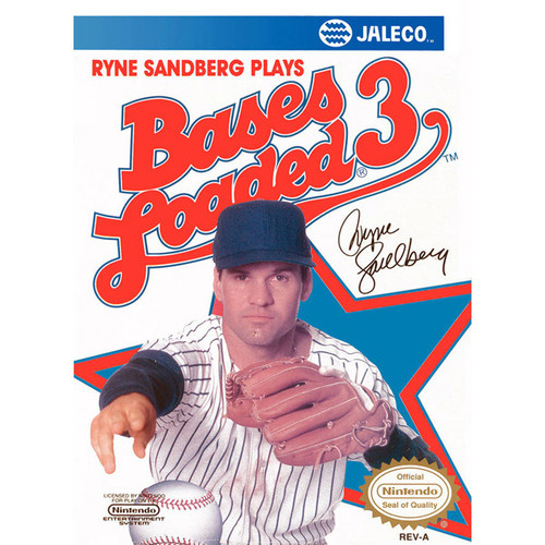 Bases Loaded 3 - NES - USED (INCOMPLETE)