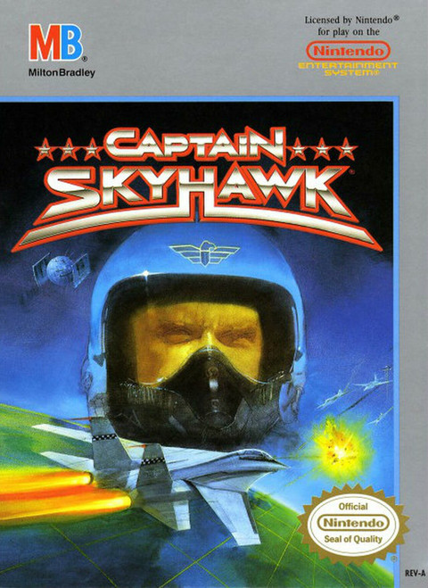 Captain Skyhawk - NES - USED (INCOMPLETE)
