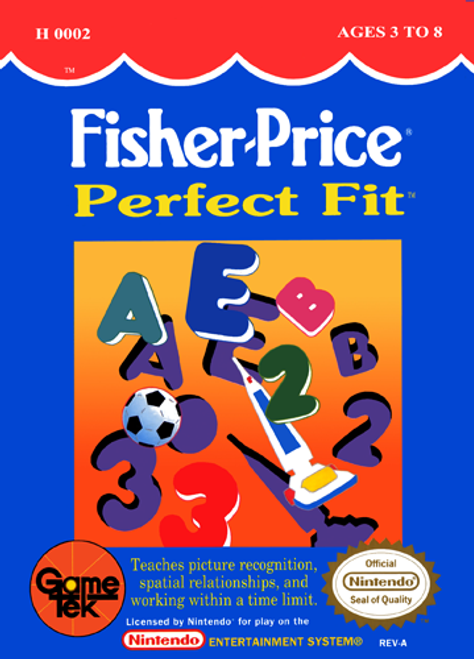 Fisher Price: Perfect Fit - NES - USED (INCOMPLETE)