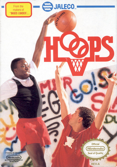 Hoops - NES - USED (INCOMPLETE)
