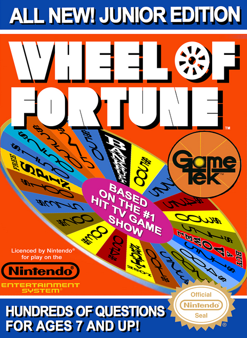 Wheel of Fortune: Junior Edition - NES - USED (INCOMPLETE)