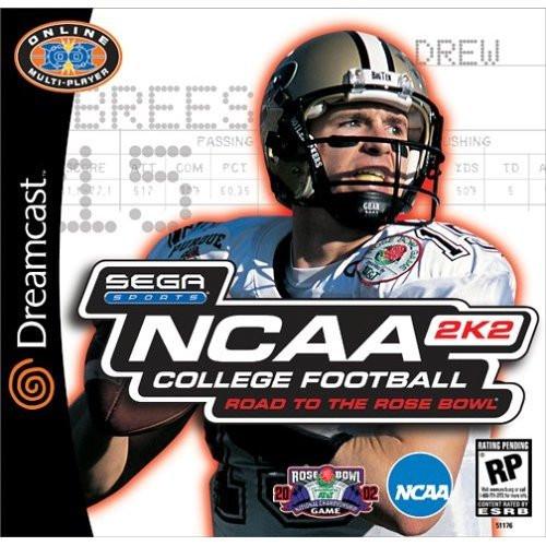 NCAA College Football 2K2 - Dreamcast - USED