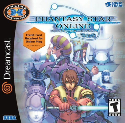 Phantasy Star Online Ver. 2 - Dreamcast - USED