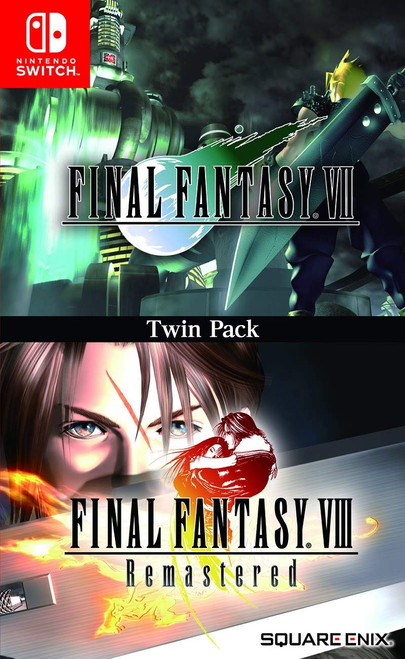Final Fantasy VII & VIII Remastered Twin Pack