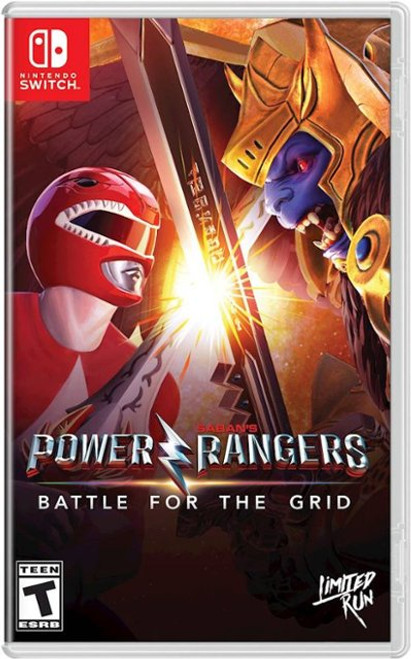 Power Rangers: Battle For The Grid (LIMITED RUN #038)