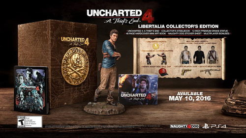 Uncharted 4: A Thief's End - Collector's Edition