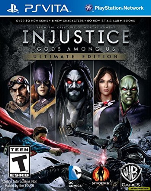 Injustice - Ultimate Edition - PSVita