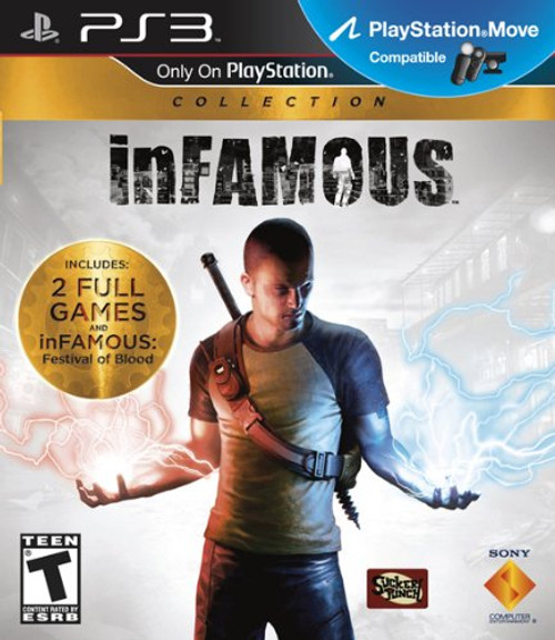 inFAMOUS Collection (1+2) - PS3 - USED
