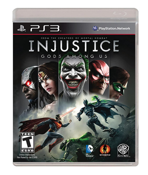Injustice: Gods Among Us - PS3 - USED