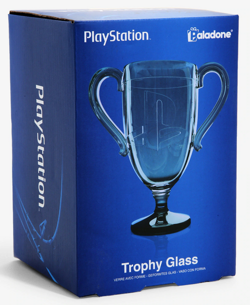 Playstation Trophy Glass
