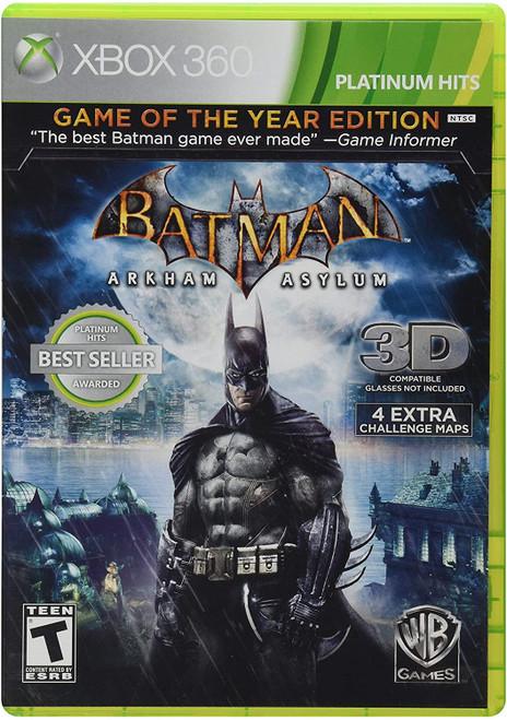 Batman: Arkham Asylum - Game of the Year Edition - Xbox 360
