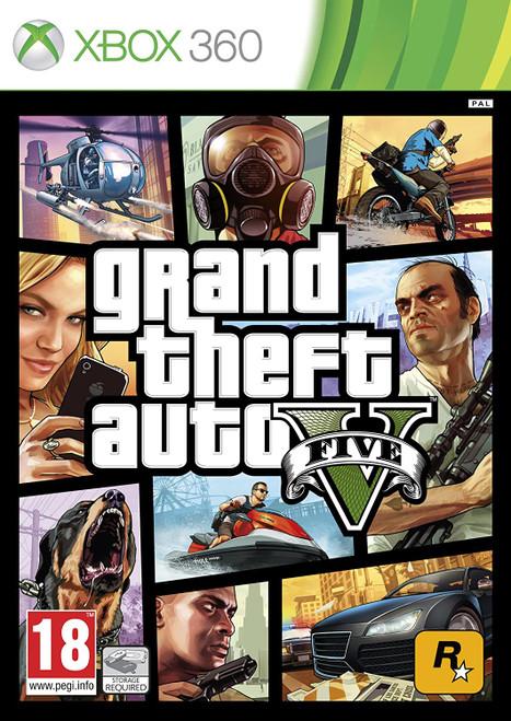 Grand Theft Auto V - Xbox 360 - USED