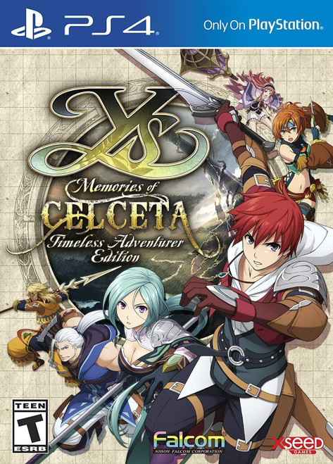 Ys: Memories of Celceta - Timeless Adventurer Edition