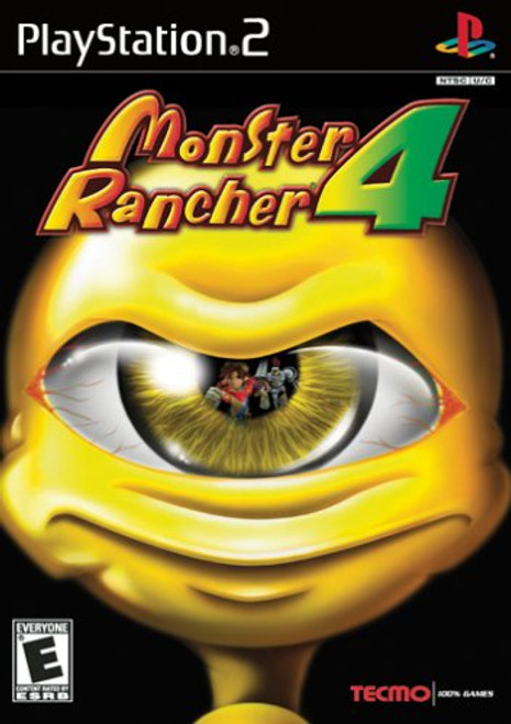Monster Rancher 4 - PS2 - USED