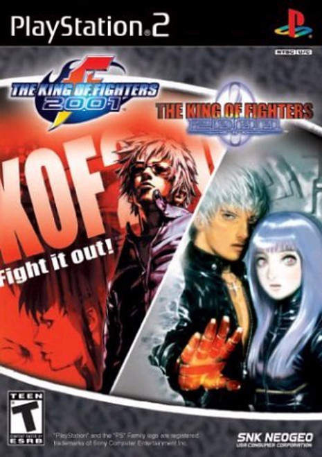 The King of Fighters 2000/01 - PS2