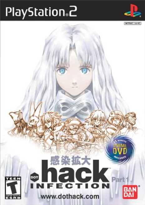 .hack//part 1: Infection - PS2 - USED