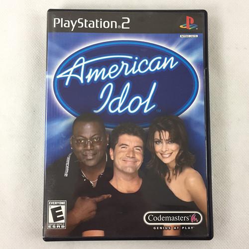 American Idol - PS2 - USED