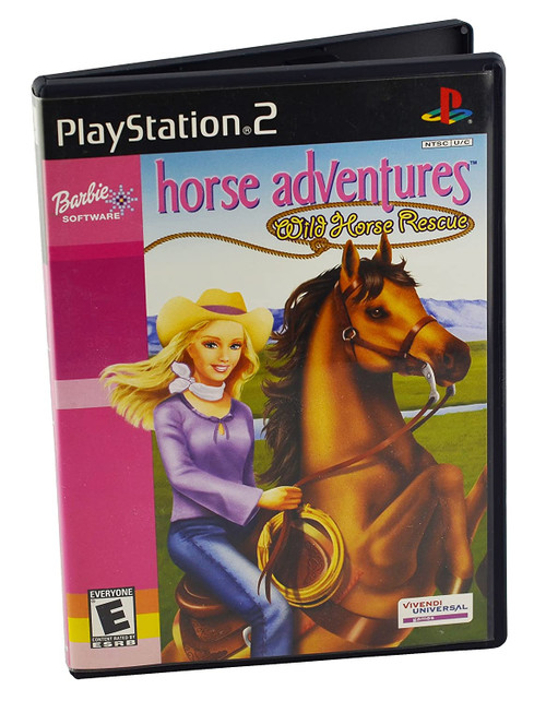 Barbie Horse Adventures: Wild Horse Rescue - PS2 - USED