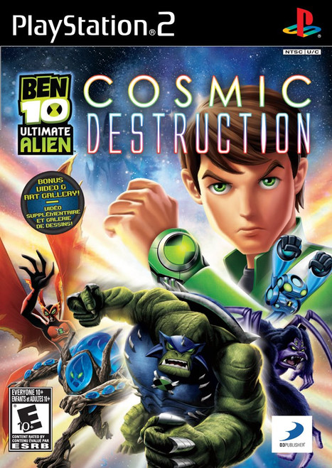 Ben 10 Ultimate Alien: Cosmic Destruction - PS2 - USED