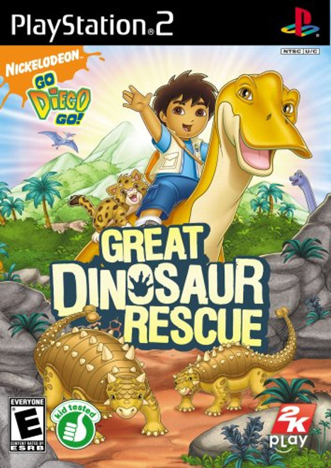 Go, Diego, Go! Great Dinosaur Rescue - PS2 - USED