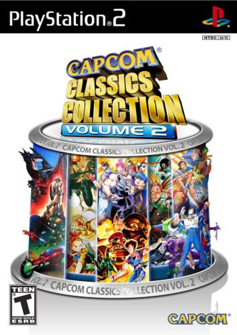 Capcom Classics Collection: Vol. 2 - PS2 - USED