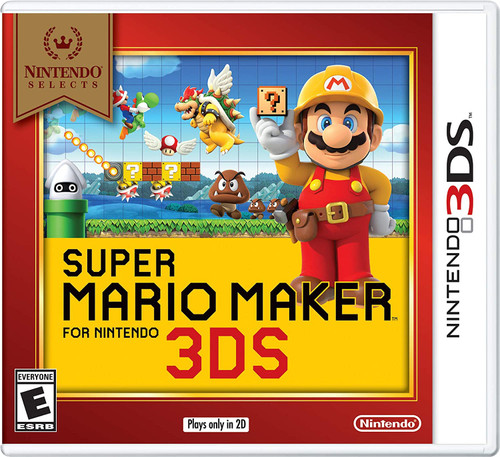 Super Mario Maker - 3DS - Nintendo Selects