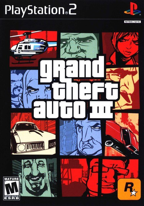 Grand Theft Auto III - PS2 - USED