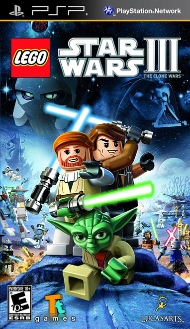 LEGO Star Wars III: The Clone Wars - PSP