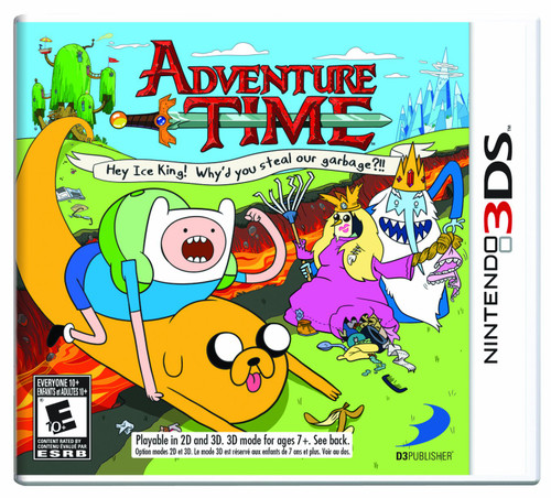 Adventure Time: Hey Ice King! Why'd You Steal Our Garbage?!! - 3DS - USED