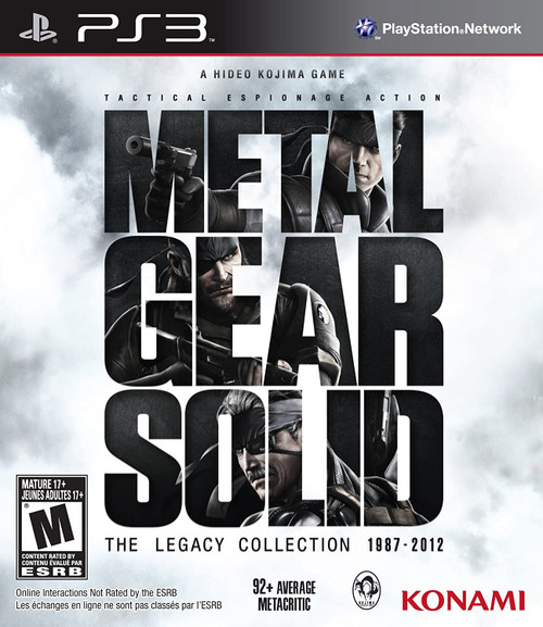 Metal Gear Solid: The Legacy Collection: 1987 - 2012