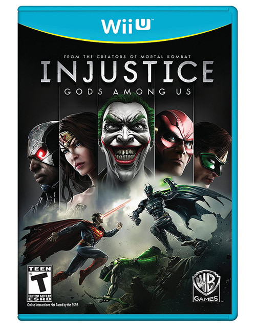 Injustice: Gods Among Us - Wii-U